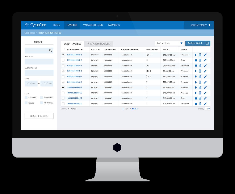 janiero-digital-cyrusone-invoicing-desktop