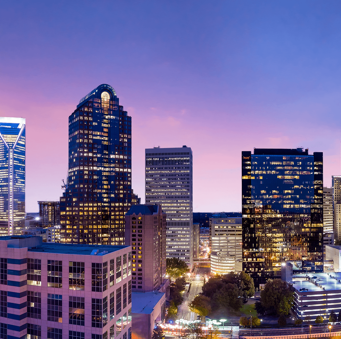 Charlotte Office Skyline | Janeiro Digital