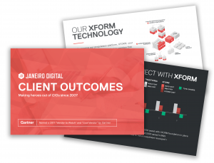 Client Outcomes Multi-Graphic | Janeiro Digital
